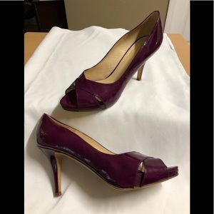 Kate Spade Heels Mulberry patent leather 8.5